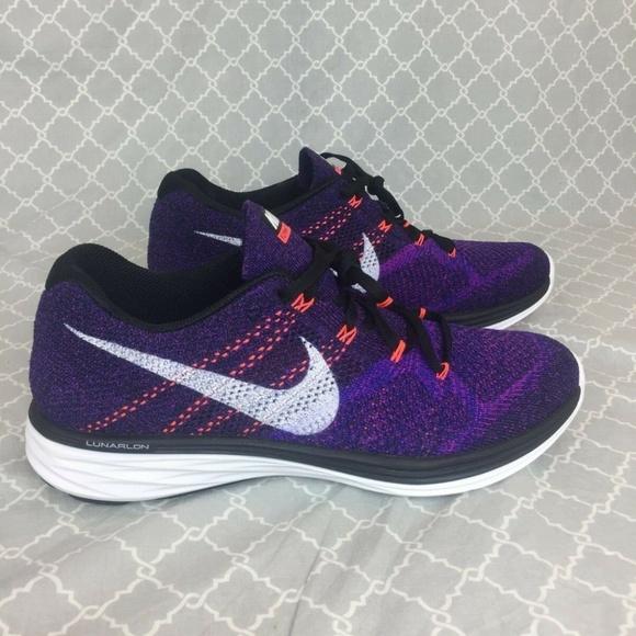 736760968192cd Nike Flyknit Lunar 3 Running Shoes 698181-014